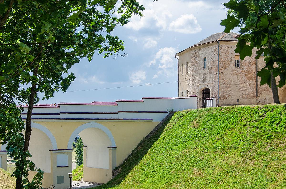 Grodno old castle