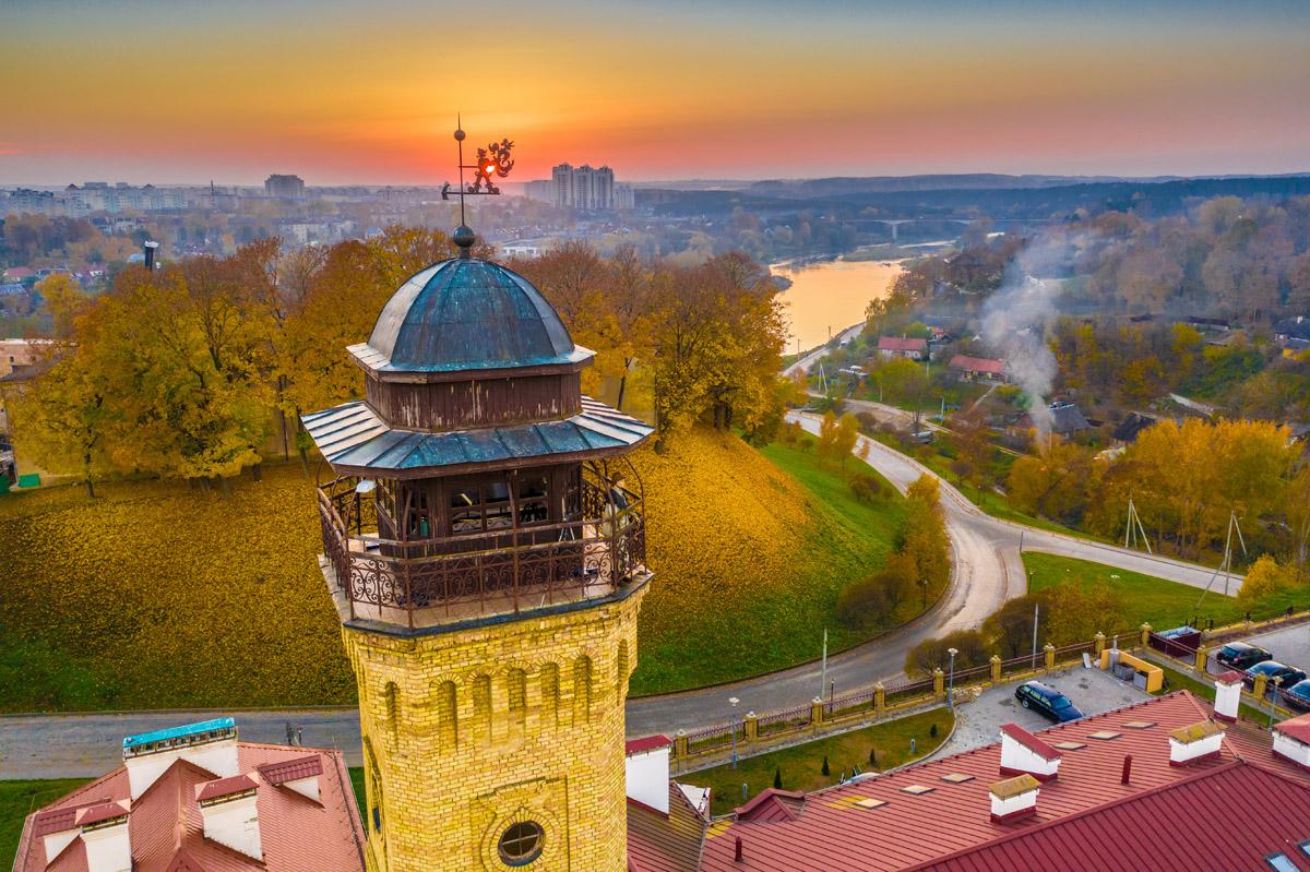 Grodno city fire tower